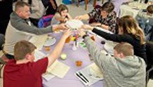 COBLESKILL SEDER MEAL HELPS FAMILIES UNDERSTAND PASSOVER
