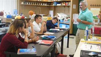 St. Ambrose eighth-graders took Regents biology early
