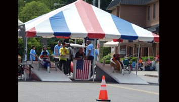 Jerry zooms past competition in Soap Box Derby