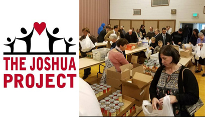 THE JOSHUA PROJECT TEAMS Up with the Regional Food Bank of Northeastern New York and Schoharie Valley Mormons to organize and deliver more than 200 Thanksgiving meals to area families last year.