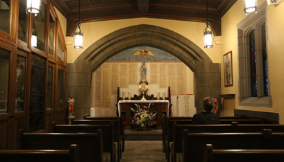 Hudson to dedicate chapel for perpetual eucharistic adoration