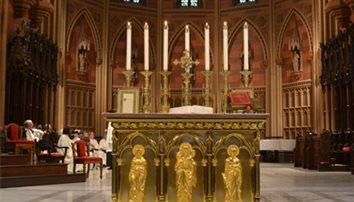 Latin Mass has appeal for all ages